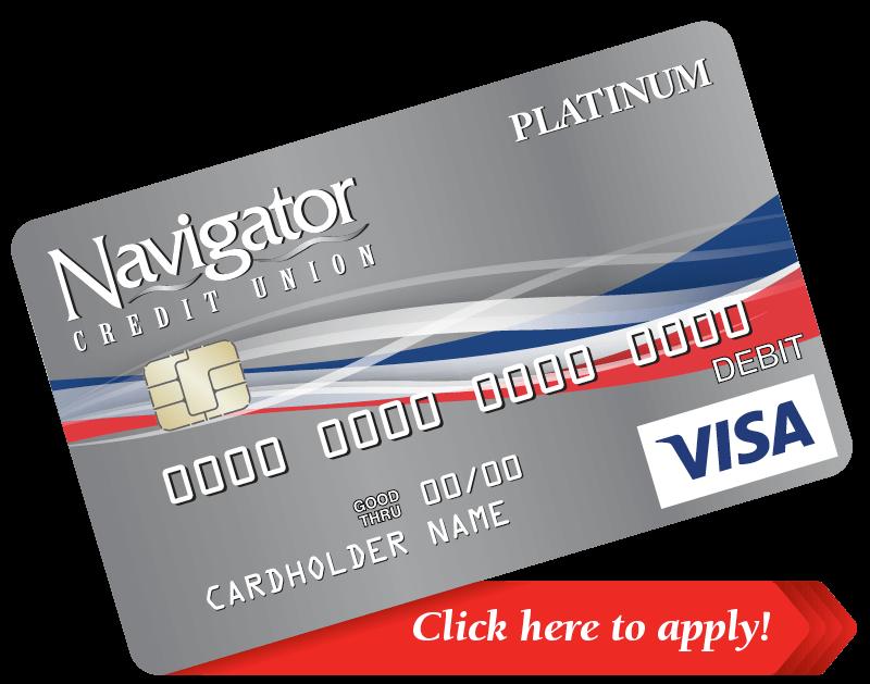 Generic Navigator Platinum Visa Card