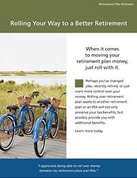 Retirement plan rollovers ebrochure cover