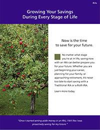 Grow your savings ebrochure cover