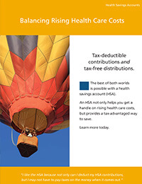 Balancing rising health care costs ebrochure cover