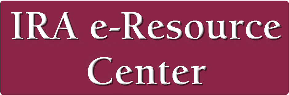 IRA e-Resource Center button