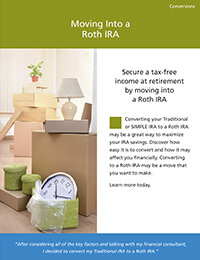 Moving Into a Roth IRA ebrochure cover