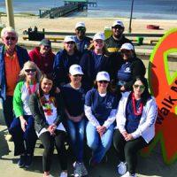 Navigator team at MS Walk 2020